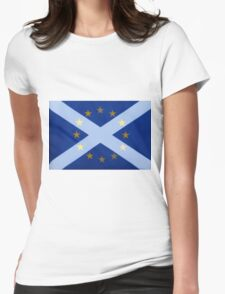 Scotland's Desire To Remain Womens Fitted T-Shirt