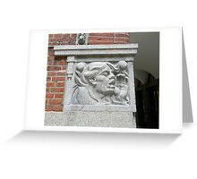 Cornerstone Sculpture Greeting Card