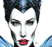 Maleficent - Angelina Jolie #2 by JHallam