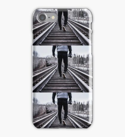 Walk on Tracks iPhone Case/Skin
