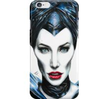 Maleficent - Angelina Jolie #2 iPhone Case/Skin
