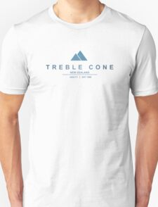 Treble Cone Ski Resort New Zealand Unisex T-Shirt