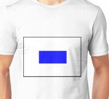 Letter S Flag Unisex T-Shirt