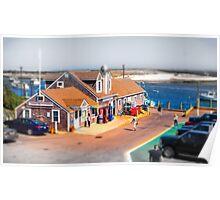 Chatham Fish Market, Cape Cod Poster
