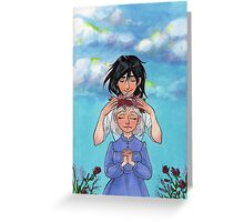 Sophie and Howl: Sophie's Coronation Greeting Card