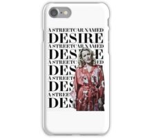 Gillian Anderson Streetcar Sticker iPhone Case/Skin