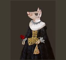 The Queen of Bling - Anthropomorphic Pig Composite Unisex T-Shirt