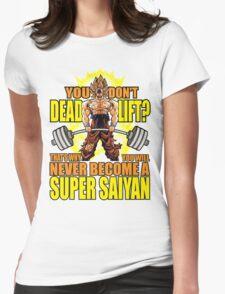 Do You Even Deadlift? (Goku) Womens Fitted T-Shirt