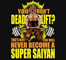 Do You Even Deadlift? (Goku) Unisex T-Shirt