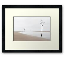 Clam Trees, Cape Cod Framed Print