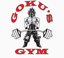 Goku's Gym (Black and Red Logo) Tank Top