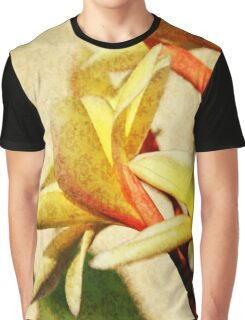 Plumeria Graphic T-Shirt