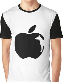 White Dog Computers Man's Best Friend PC Phone Logo Graphic T-Shirt