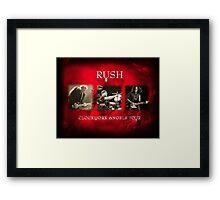 Rush - Clockwork Angels Tour Framed Print