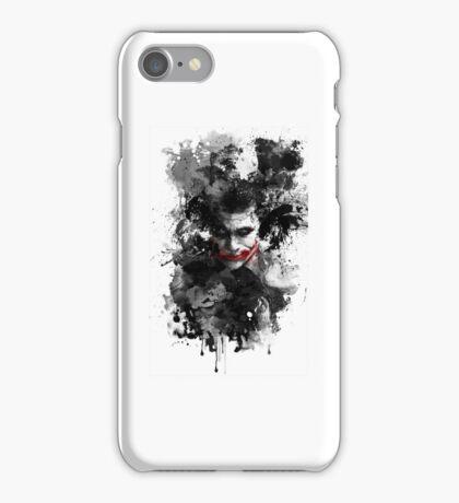 Dark style joker iPhone Case/Skin