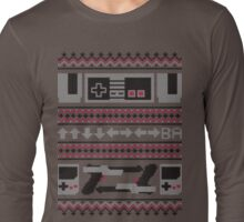 Old School Sweater Long Sleeve T-Shirt