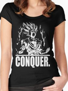 CONQUER (Gohan) Women's Fitted Scoop T-Shirt
