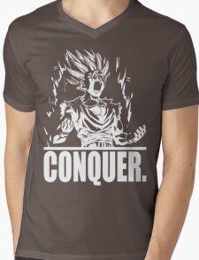 CONQUER (Gohan) Mens V-Neck T-Shirt