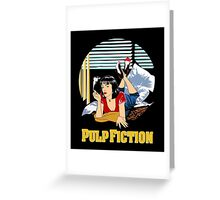 Pulp Fiction - Mia Circular Variant Greeting Card