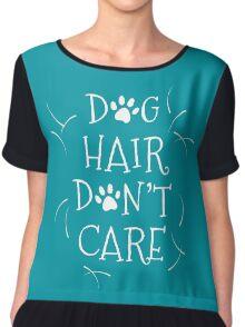 Dog Hair Don't Care Chiffon Top