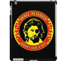 Snake Plissken (doesn't give a shit) Colour 2 iPad Case/Skin