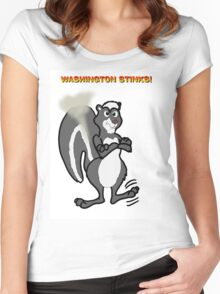 Washington Stinks! Women's Fitted Scoop T-Shirt