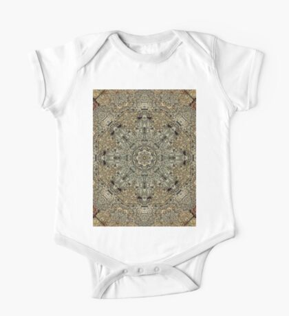 Kaleidoscope of a cave wall One Piece - Short Sleeve