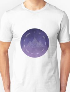 TO THE STARS WHO LISTEN AND THE DREAMS THAT ARE ANSWERED- SARAH J. MAAS Unisex T-Shirt