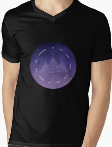 TO THE STARS WHO LISTEN AND THE DREAMS THAT ARE ANSWERED- SARAH J. MAAS Mens V-Neck T-Shirt