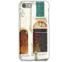 Brisighella: house facade iPhone Case/Skin