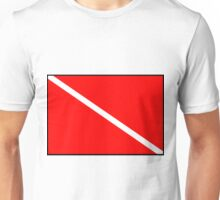 Diver Down Flag Unisex T-Shirt