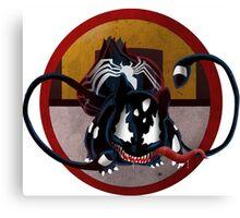 Bulbasaur Venom Mash-Up Canvas Print