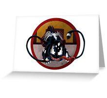 Bulbasaur Venom Mash-Up Greeting Card