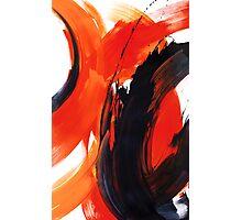 Bold Red & Orange  Photographic Print