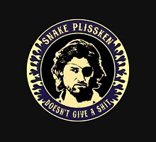 Snake Plissken (doesn't give a shit) Colour 3 Unisex T-Shirt