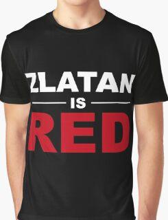 Zlatan Ibrahimovic - Manchester United Graphic T-Shirt