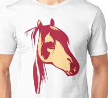 Red Horse Vintage Design Unisex T-Shirt