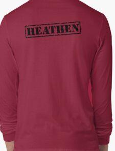 Heathen Prison Jumpsuit Stamp Long Sleeve T-Shirt