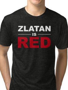 Zlatan Ibrahimovic - Manchester United Tri-blend T-Shirt