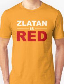 Zlatan Ibrahimovic - Manchester United Unisex T-Shirt