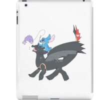 Fishing buddies iPad Case/Skin