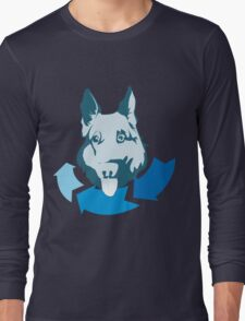 Returning Dog Cool Design Long Sleeve T-Shirt