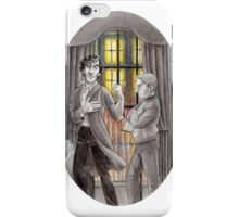 "Life is Infinitely Stranger"" - Sherlock and John - 221B version #  iPhone Case/Skin"