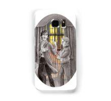"Life is Infinitely Stranger"" - Sherlock and John - 221B version #  Samsung Galaxy Case/Skin"