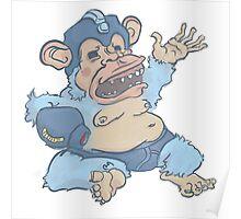 Mega Monkey - a Mega Man Adaptation Poster