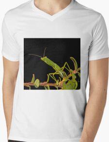 The Mantis Mens V-Neck T-Shirt