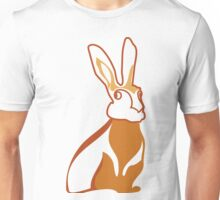 Golden Rabbit Wedding Design Unisex T-Shirt