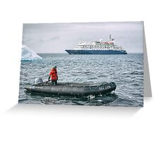 Antarctic Operations - Antarctica Greeting Card