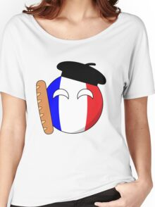 French Ball Women's Relaxed Fit T-Shirt