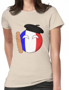 French Ball Womens Fitted T-Shirt